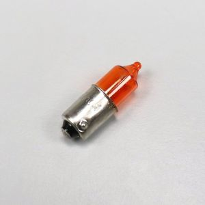 Ampoule de clignotant BA9S 12V 10W orange