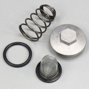 Bouchon de vidange complet (crépine, ressort, bouchon et joint) pour moteur GY6, 1P37QMA 50cc 4T