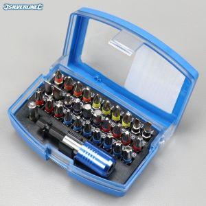 Coffret d'embouts code couleur Silverline (32 pièces)