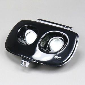 Phare double optique noir MBK Booster, Yamaha Bw's (avant 2004) TNT