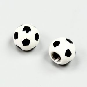 Bouchons de valves ballon de foot (la paire)