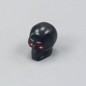 Bouchon de valve skull head noir (à l'unité)