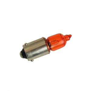Ampoule de clignotant orange ergots décalés H6W  12V 6W