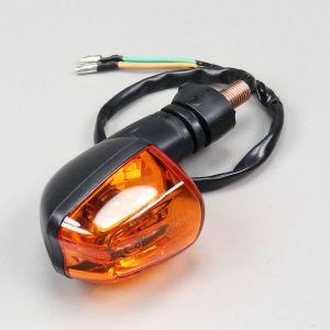 Clignotant adaptable Generic Trigger, Ride Thorn, KSR... (avant droit/arrière gauche) cabochon orange