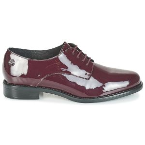 Derbies Betty London CAXO rouge - Taille 36,37,38,39,40,41,35