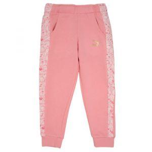Jogging enfant Puma MONSTER SWEAT PANT GIRL Rose - Taille 1 / 2 ans,2 / 3 ans,3 / 4 ans