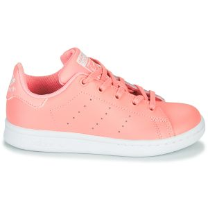 Baskets basses enfant adidas STAN SMITH C Rose - Taille 34,35
