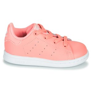 Baskets basses enfant adidas STAN SMITH EL I Rose - Taille 19,20,21,22,23,24,25,26,27