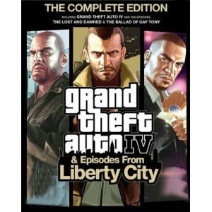 GTA IV: Complete Edition Rockstar Games Launcher Key GLOBAL
