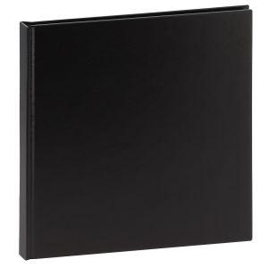 Album photo DEKNUDT traditionnel - 20 pages noires - 20 photos - Couverture Noire 21,5x21,5cm