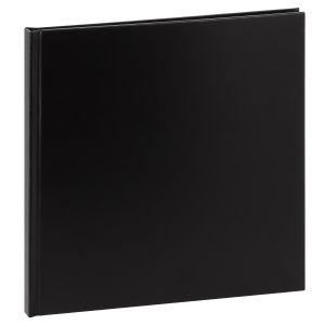 Album photo DEKNUDT traditionnel - 20 pages noires - 40 photos - Couverture Noire 31,5x31,2cm