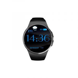 Kw18 Bluetooth Montre Intelligente Connecté 1.3 Pouces Ips Lcd Téléphone, Soutien Anti-perte / Moniteur De Fréquence Cardiaque / Podomètre /