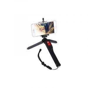 Letspro Ly-11 3 En 1 Trépied De Poche Autoportrait Monopode Extensible Selfie Bâton Avec Obturateur À Distance Pour Smartpho