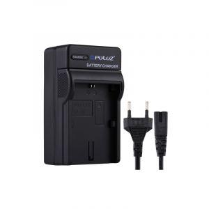 Puluz (prise Europe) Chargeur De Batterie Avec Câble Pour Canon Lp-e6 Batterie