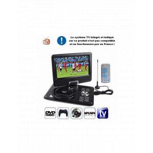 Dvd-console Jeux Portable 9.5 Pouces Noir (mp3,mp4,divx,sd,usb)