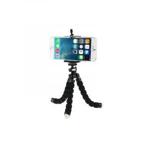 Support De Support De Trépied Bubble Octopus Flexible Pour Téléphone Portable / Appareil Photo Numérique (noir)
