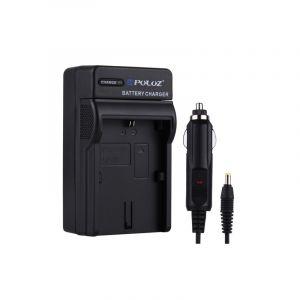 Chargeur De Voiture De Batterie D'appareil Photo Numérique De Puluz Pour La Batterie De Canon Lp-e6