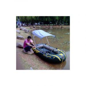 La Tente Gonflable En Caoutchouc De Parasol De Bateau De Canoë D'auvent Se Pliant Extérieur Pour 25 Personnes, Bateau N'est P