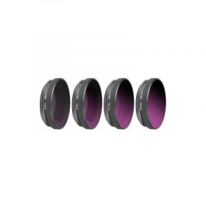 4 In 1 Sunnylife Oa-fi176 Nd4+nd8+nd16+nd32 Lens Filter Pour Dji Osmo Action