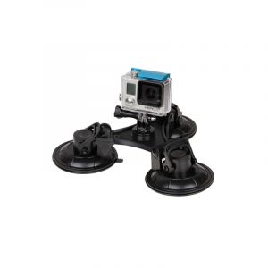 Monture De Ventouse Triangle Direction Avec Tournevis Hexagonal Pour Gopro Hero6 / 5/5 Session / 4 Session / 4/3 / 3/2/1, Xia