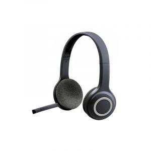 Logitech H600 Sans Fil Casque Écouteur Pour Computers Via Usb Receiver(noir)
