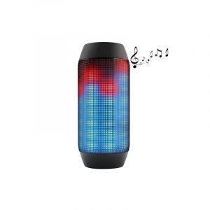 Lecteur Et Haut-parleur Bluetooth Sans Fil (led À Impulsions + Micro Intégré)