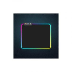 Montagnes Coloré Led Verrouillage Épaississement Lumière Clavier Tapis De Souris Jeu, Taille: 300 X 250 X 4mm