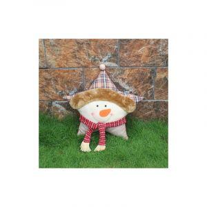 Coussin De Canapé De Voiture En Forme D'étoile De Noël En Forme De Bonhomme De Neige