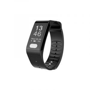 Tlw T6 Fitness Tracker 0,96 Pouces Oled Bracelet D'affichage Smart Bracelet, Mode Sports Compatible / Ecg / Moniteur De Fréque