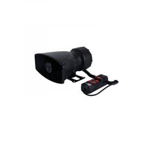 Hjs-78005 12 V 60 W 300 Db Voiture Électrique Alarme Air Corne Sirène Haut-parleur 5 Tonalité Sonore / 3 Tonalité Super Lou