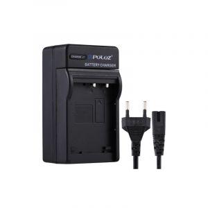 Puluz (prise Europe) Chargeur De Batterie Avec Câble Pour Batterie Casio Cnp130