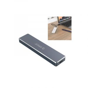Orico Pcm2-c3 2tb M.2 M-key To Usb 3.1 Gen2 Usb-c / Type-c Push-top (boitier Vide Pour Disque Ssd)(gris)