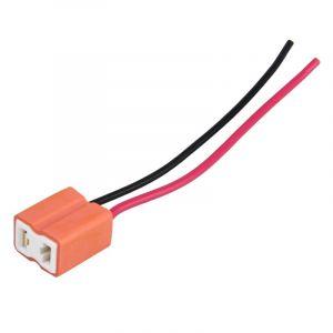 Paire De Support Pour Ampoules H7 Auto Avec Câbles - Lampes Non Incluses