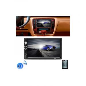 7010b Hd 2 Din 7 Pouces Car Bluetooth Radio Receiver Mp5 Lecteur, Support Fm & Usb & Carte Mémoire Tf (micro-sd)