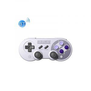 8bitdo Sn30pro Sans Fil Bluetooth Gamepad Joystick Pour Switch Android Rumble Vibration Motion Controls