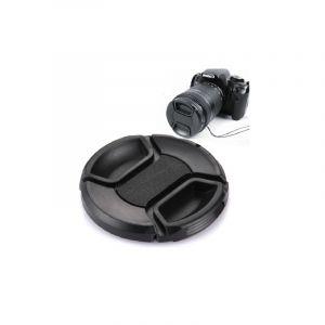 62mm Center Ppouces Caméra Lens Capnoir) (noir)