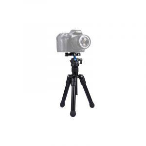 Puluz Pocket Mini Microspur Photos Support De Trépied En Alliage De Magnésium Avec 360 Degrés Ball Tête Pour Dslr Et Appare