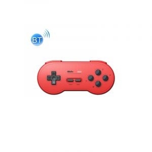 8bitdo Sn30 Sans Fil Bluetooth Controller Rainbow Color Support Nintendo Switch Android Macos Gamepad (rouge)