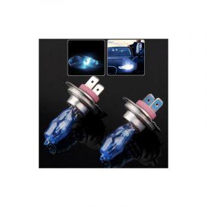 Paire Ampoules H7 Halogène 100w-12v Couleur Blanc