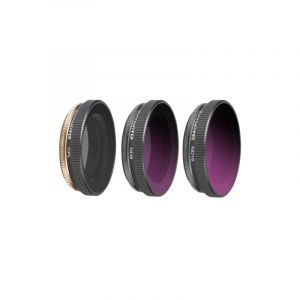 3 In 1 Sunnylife Oa-fi174 Cpl+nd8+nd16 Lens Filter Pour Dji Osmo Action