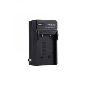 Puluz (prise Usa) Chargeur De Batterie Pour Nikon En-el10, Olympus Li-40b, Fuji Fnp-45, Kodak K7006, Batterie Casio Cnp80