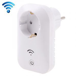 Prise Wifi Alarme + Télécommande Avec Capteur De Porte, Android + Apple Pris En Charge