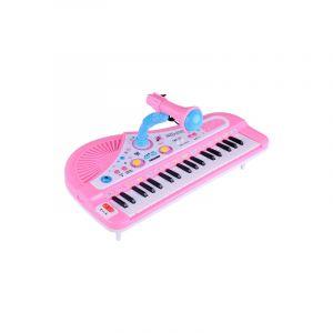 Clavier D'orgue Électronique 37 Touches Piano Électronique Avec Supports Et Microphone, (couleur Assortie)