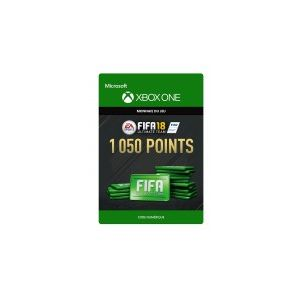 FIFA 18 Ultimate Team 1 050 Pts Xbox One