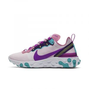 Chaussure Nike React Element 55 pour Femme - Rose - Taille 38 - Female