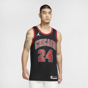 Maillot Jordan NBA Swingman Lauri Markkanen Bulls Statement Edition 2020 - Noir - Taille M - Male