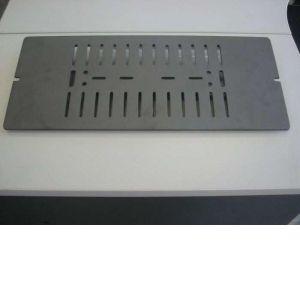 14234PB SUPRA grille de décendrage Fonte, 590 x 245 mm