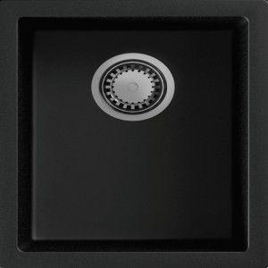 Lot cuve Granit Syrius SYR38SP + mitigeur Pose sous plan, bac réctangulaire