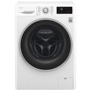 lave-linge à chargement frontal LG F84J61WH 8 kg, essorage 1400 tours/mn, A+++AA