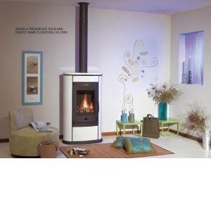 poele a bois godin blanc comparer 46 offres. Black Bedroom Furniture Sets. Home Design Ideas